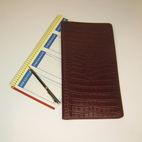 Italian Leather Memo Pad
