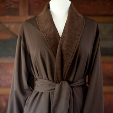 Double Layer Twill Robe by Telegraph Hill