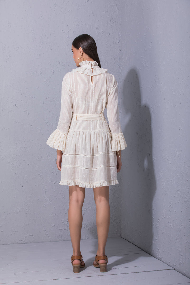 Ivory Cotton Dress