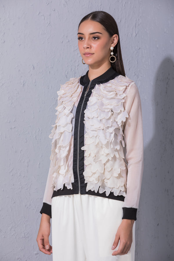Applique Cutwork Jacket