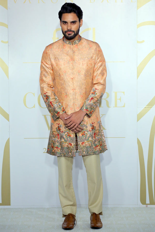 Old Rose Sherwani