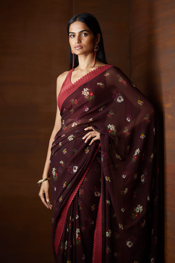 Signature Varun Bahl Printed Saree