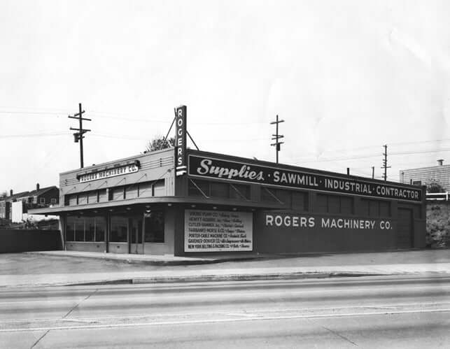 Rogers Machinery history selling pacific northwest compressors