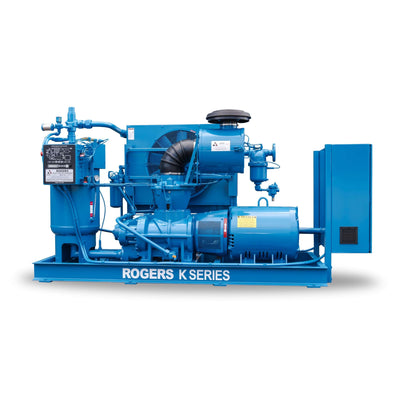 Rogers Rotary Screw Air Compressor - K/KV Series