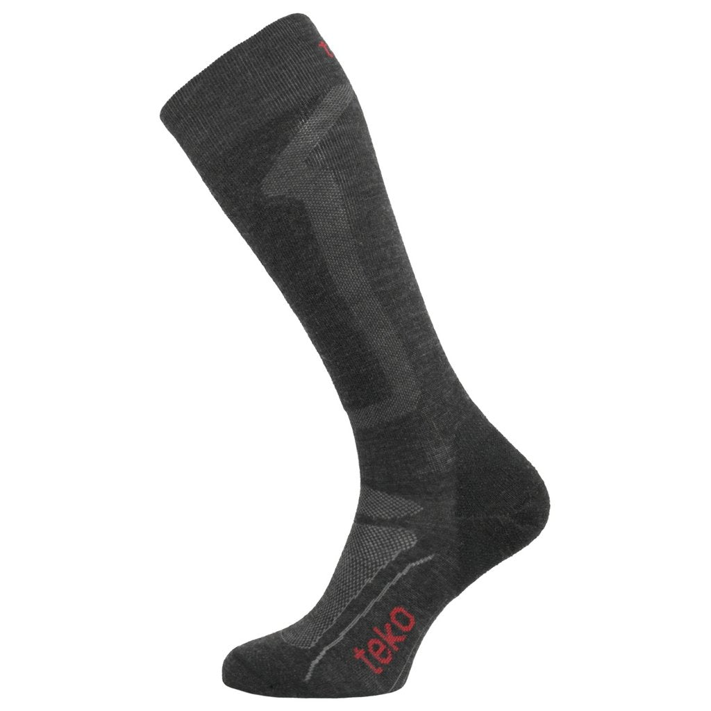 Teko Ski Pro Ultralight Sock Jet/Cranberry
