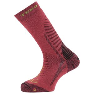 Teko Merino Discovery Multi Activity Socks – Light Cushion - Mens - Red