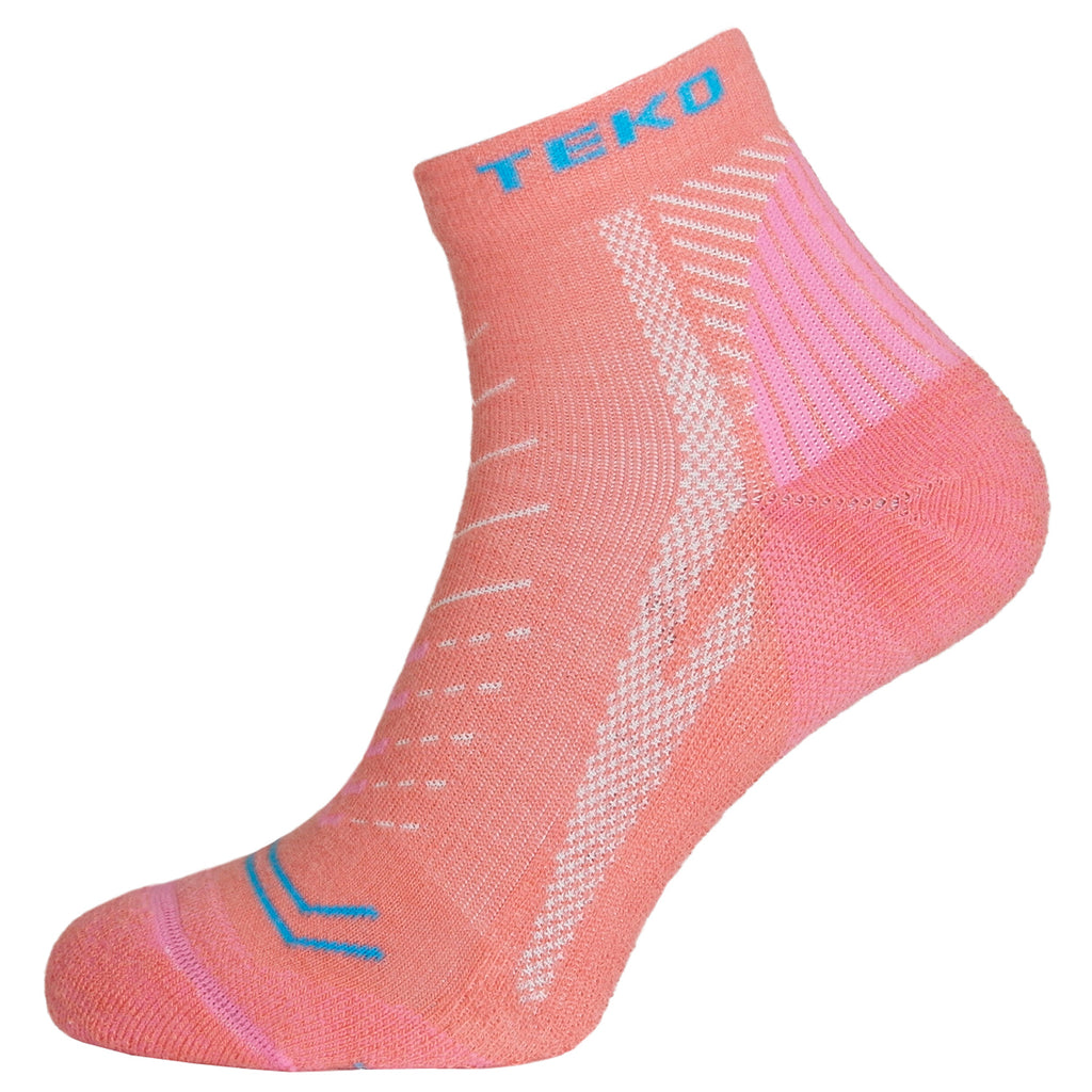 Teko Diva Light Hiking Socks - Coral - Womens
