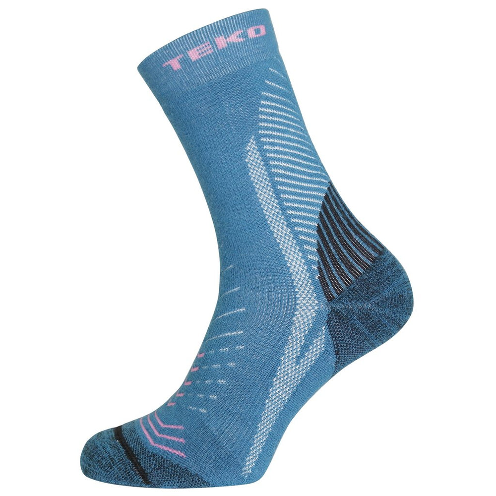 Teko Infinity Trail Socks - Aqua - Womens