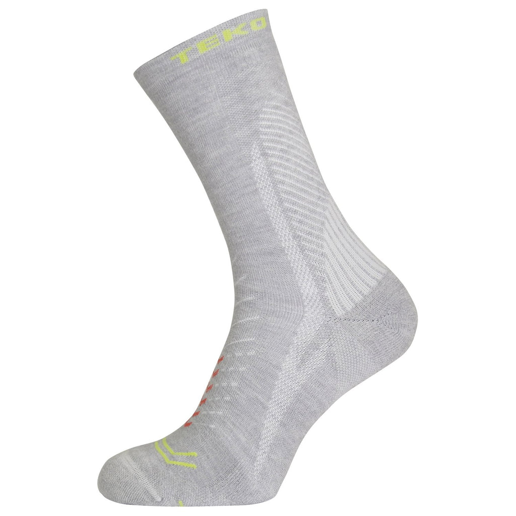 Teko Infinity Trail Socks - Silver Birch - Womens