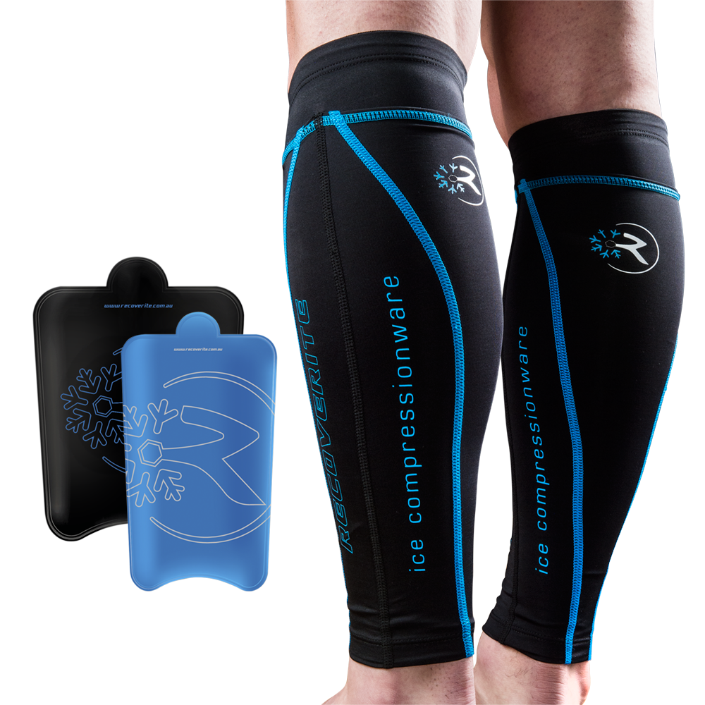 Recoverite Compression & Ice Recovery Calf Tights - Mens