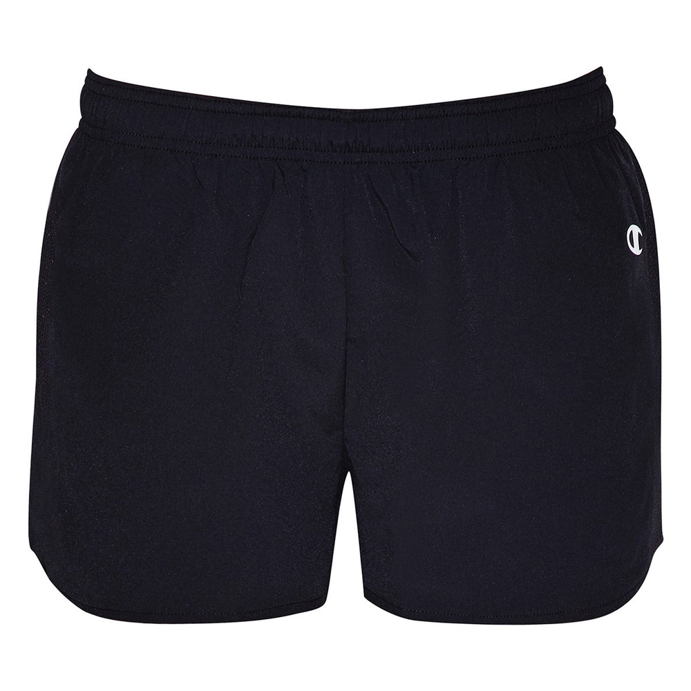 Champion Essential Running Short Black (W)