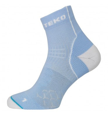 Teko Adrenaline Running Sock Della/White - Womens