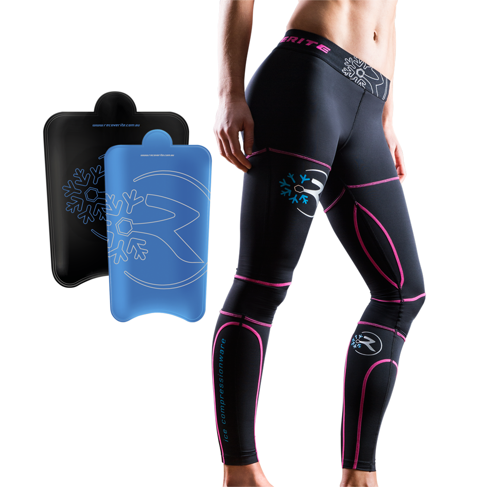 Recoverite Compression & Ice Recovery Tights - Womens