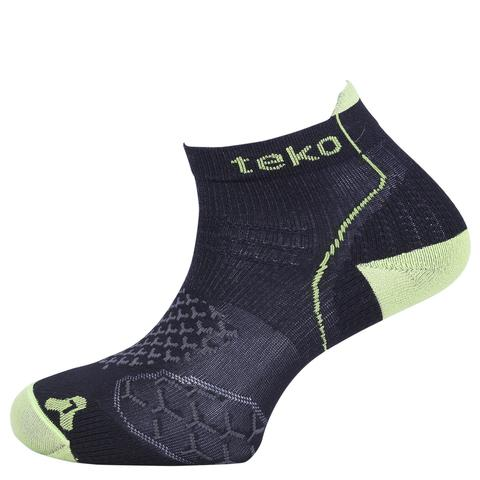 Teko RunFit Running Socks - Carbon/Firefly - Mens
