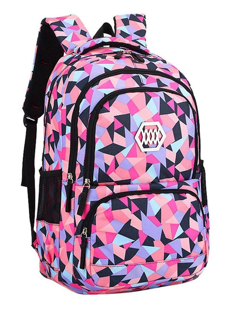 Fashion Girl School Bag Waterproof light Weight Girls Backpack bags