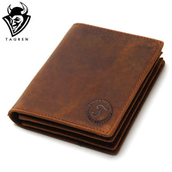 Leather Men Wallets Multi-Functional Cowhide Coin Purse Genuine Leather Wallet For Men
