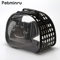 Transparent Cat Dog Carrier Bag Breathable Pet Travel Handbag