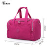 Women Travel BagsWaterproof Luggage Duffle Bag Casual Totes Big