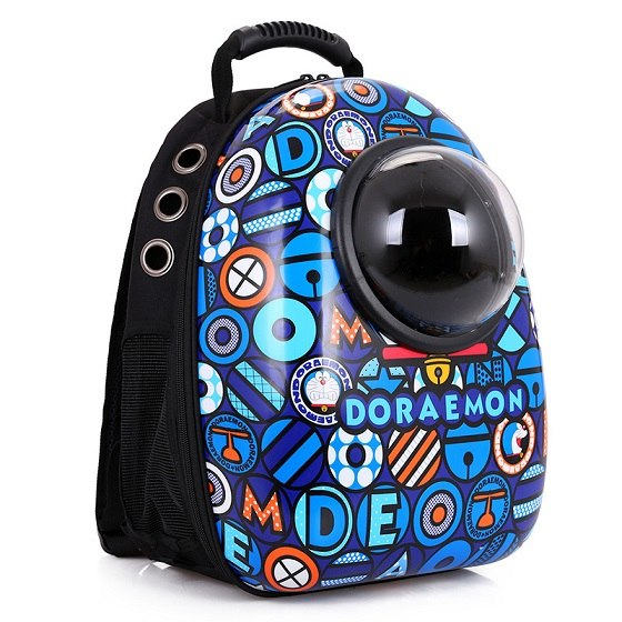 travel tale fashion cat and dog capsule pet cartoon bag Hand-held portable