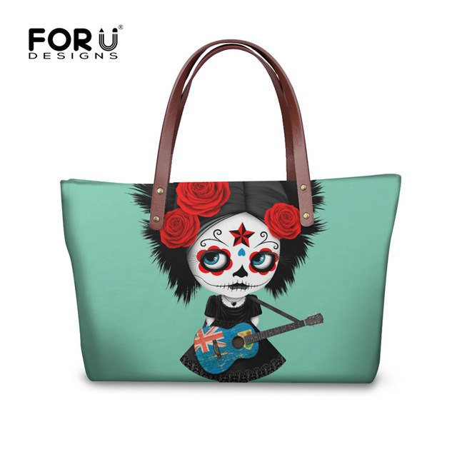 Women Skull Handbags Designer Luxury Brand Tote BagsClutch Handbag Famous Punk 3D