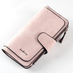 Leather Women Wallet High Quality Design Hasp Card Bags Long Female Purse 6 Colors