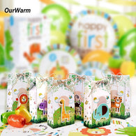 Safari Animals Favor Box Candy Box Gift Boxes Bags