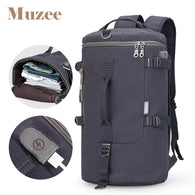Travel Bag Cylinder Packbage  Male Fashion Backpack Shoulder
