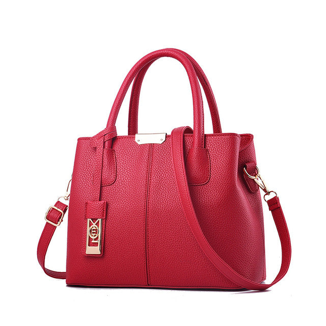 Women Shoulder Messenger Bag Pure Color Ladies Handbags Tote Bags