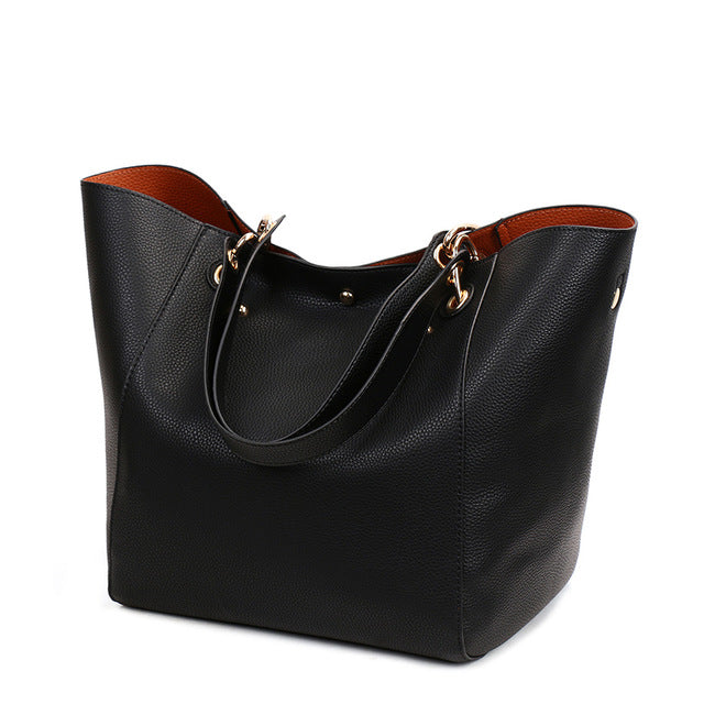 Bags Big Capacity Female Top-handle Tote Bags Large Purses and Handbags