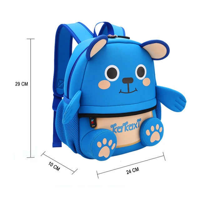 ee47a9c5ed3 ... Backpack Cartoon One-eyed Monster Waterproof Neoprene Fabric For Toddler  ...