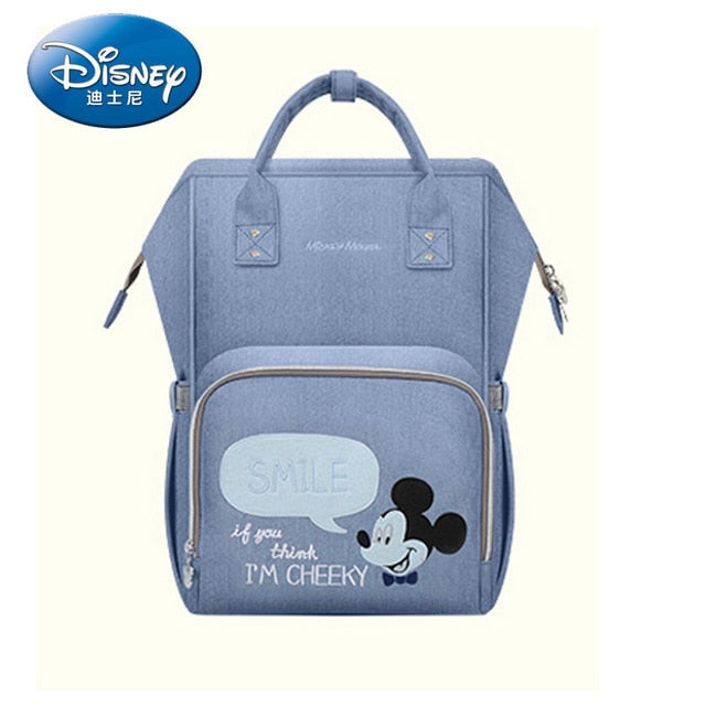 Disney Mummy Maternity Nappy Bag Travel Backpack Large Capacity Baby Bag Stroller