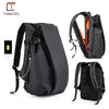 "Men Backpack for Laptop 17.3"" USB Port Waterproof Travel Backpack Large Capacity"