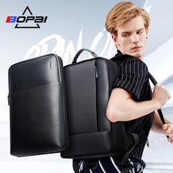 Backpacks for Men Detachable 15.6 inch Laptop Backpack Male Waterproof Notebook Slim back pack