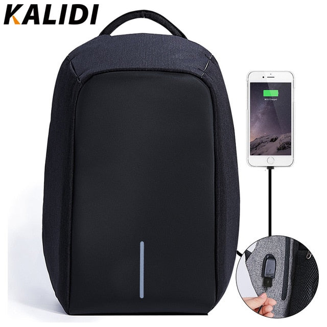 Waterproof Laptop Backpack Men 15 inch  Anti theft Backpack USB Charging Male Travel School Backpacks