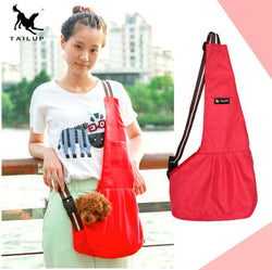 Cat and dog chest bag Pet supplies Oxford cloth Foreign trade strap Crossbody out portable cat bag Fashion shoulder bag