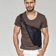 Single Portable Shoulder Bags For Men  Waterproof Nylon Cross Body Bags