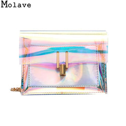 Transparent Female bag Messenger Shoulder Bag Beach