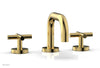 TRANSITION - Widespread Faucet - Low Spout, Cross Handles 120-03