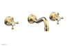 HENRI Wall Lavatory Set With Cross Handles 161-11