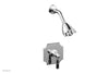 HENRI Pressure Balance Shower Set - Marble Handle 161-23