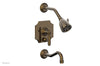 MARVELLE Pressure Balance Tub and Shower Set - Lever Handle 162-27