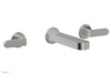 ROND Wall Lavatory Set - Lever Handles 183-12
