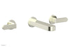 ROND Wall Tub Set - Lever Handles 183-57