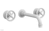 WORKS Wall Lavatory Set - Cross Handles 220-11