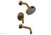 WORKS Pressure Balance Tub and Shower Set - Lever Handle 220-27