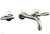 WORKS Wall Tub Set - Lever Handles 220-57