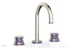 "JOLIE Widespread Faucet - Round Handles with ""Purple"" Accents 222-01     **PRE-ORDER NOW FOR APRIL 2019 SHIPPING**"