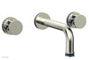"JOLIE Wall Tub Set - Round Handles with ""Navy Blue"" Accents 222-56"