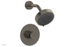 "JOLIE Pressure Balance Shower Set - Round Handle with ""Black"" Accents 222-21"