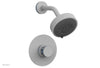 "JOLIE Pressure Balance Shower Set - Round Handle with ""Light Blue"" Accents 222-21"